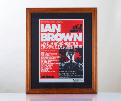 Ian Brown Live at Manchester 2010