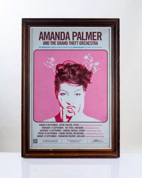 Amanda Palmer Australian tour 2013