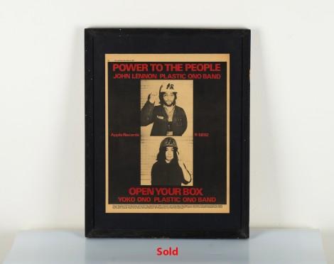 John Lennon & Yoko One Plastic Ono Band. 1971