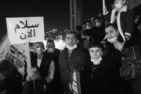 Joint demonstration of jews & arabs, from Silwan to Balfour. January 6th, 2021